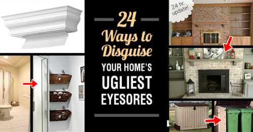 24 Ways To Disguise Your Home's UgliestEyesores