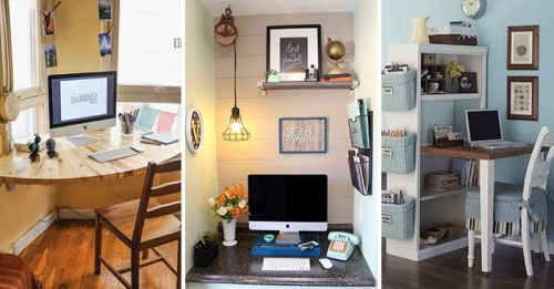 10 Tiny Home Offices That Get the JobDone