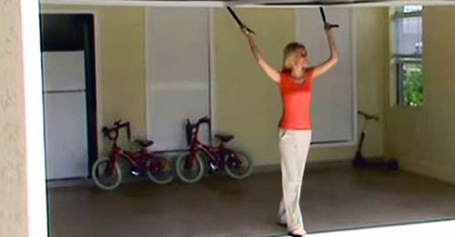 Watch This Ho-Hum, Ordinary Garage Turn Awesome When She Pulls TheCord
