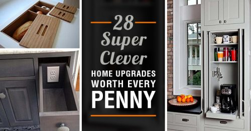 28 Super Clever Home Upgrades Worth Every Penny