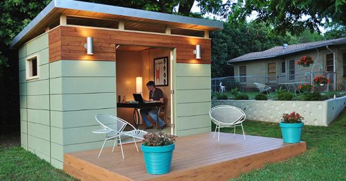 "Introducing ""Shedquarters"": The Hot New Trend Home-Based Business Owners Are Drooling Over"