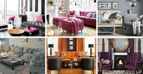 6 Color Palettes Perfect For The LivingRoom
