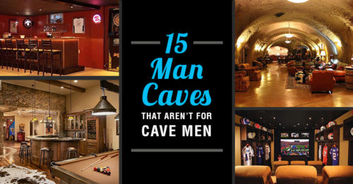 15 Man Caves To Inspire Dad This FathersDay