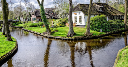 There's A Storybook Town In Holland With Streets Made Of Water